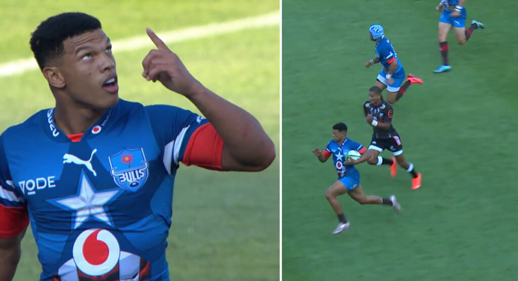 7s flyer burns everyone to score epic 85-metre try for Bulls