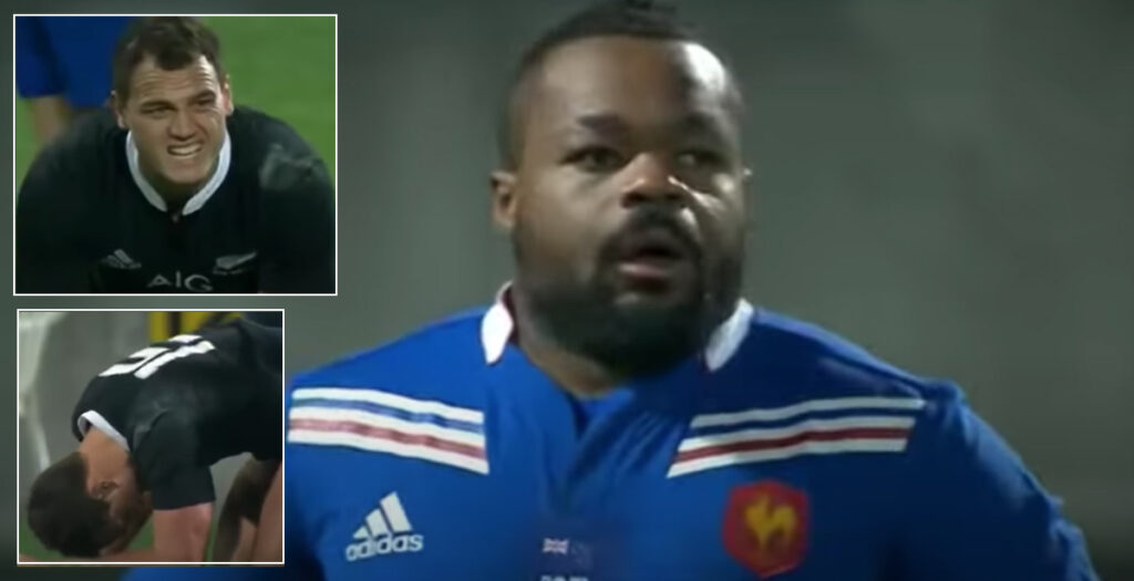 WATCH: Bastareaud leaves Dagg in pain after HUGE shot on 2013 tour