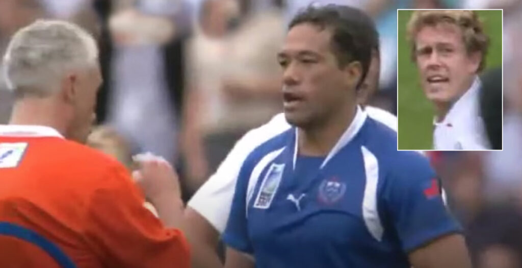 WATCH: Brian Lima's HUGE hit on Jonny Wilkinson in last ever game of pro rugby