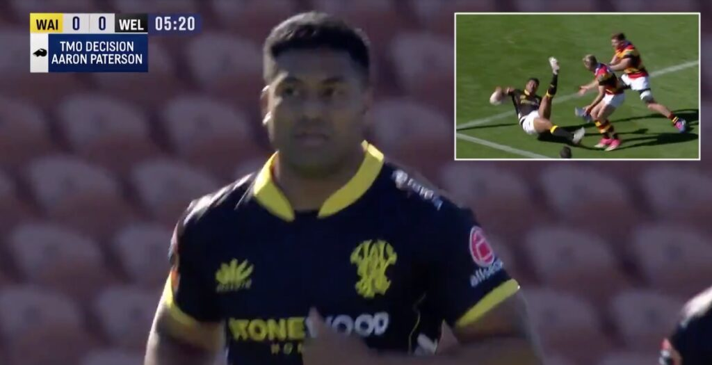 'The bus is back in service' - Julian Savea returns with awesome try in Wellington