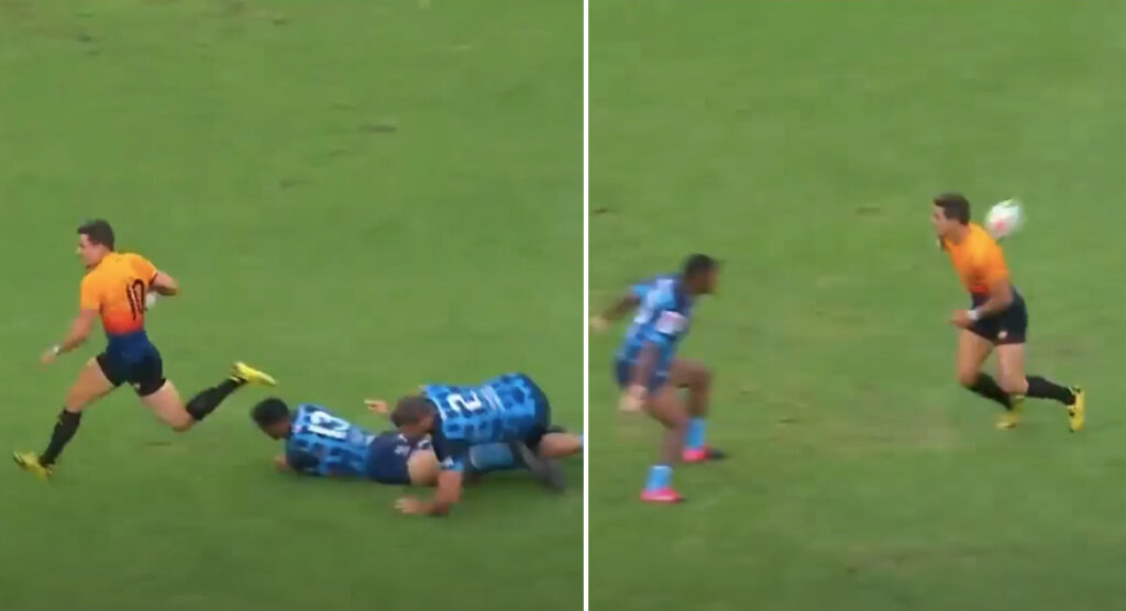 Highlights reel shows what an exciting addition Leicester Tigers' new playmaker will be