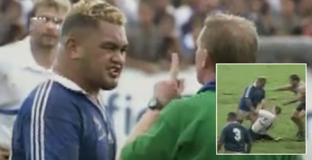 WATCH: Re-live one of the biggest red card hits of Trevor Leota's career