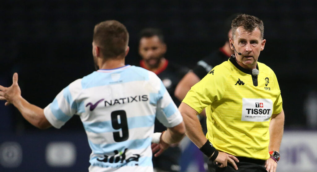 Nigel Owens gets slightly mixed reviews for enforcing the five second law