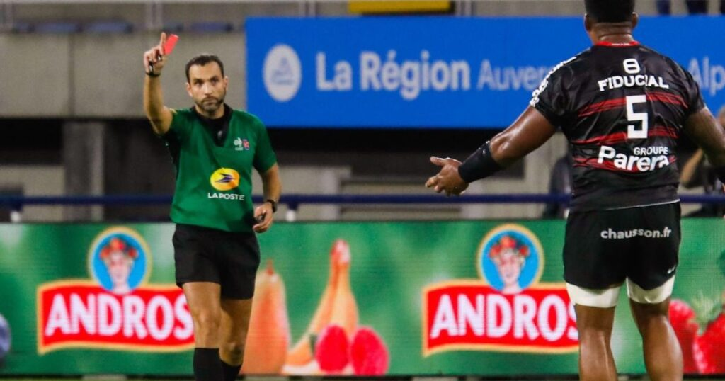 One-week ban for Toulouse forwards following double sending off