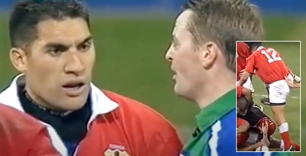 ARCHIVE: Tongan centre sees debut red for brutal stamp in 2001