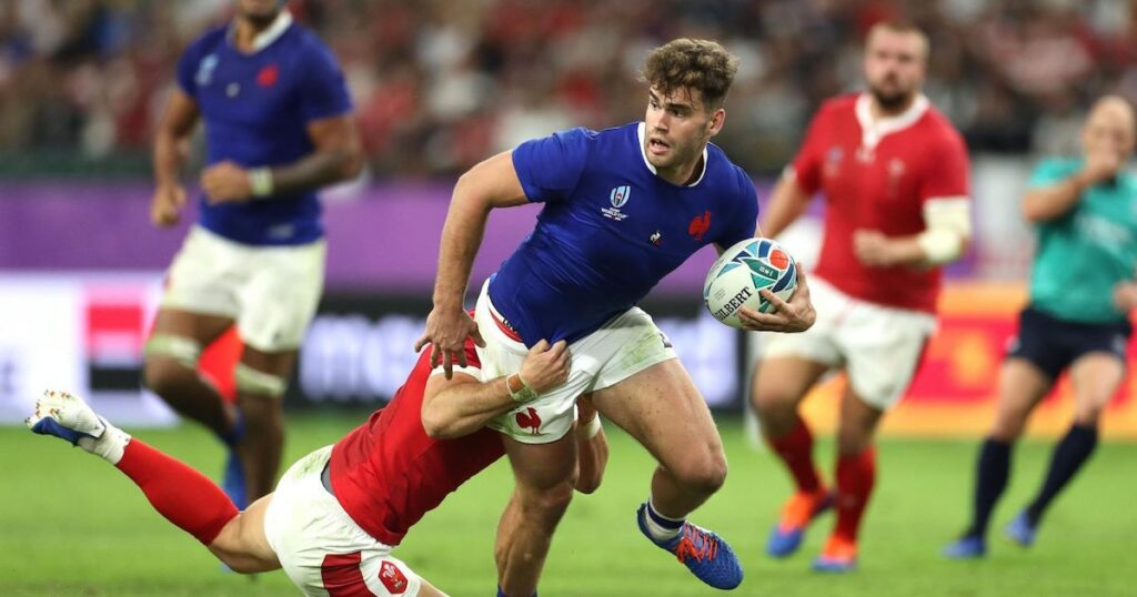 Bad news for France as Damian Penaud is ruled out of the Autumn Nations Cup