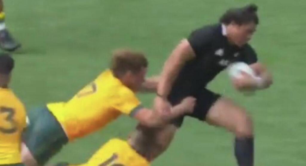 All Blacks rookie sensation reveals 'Michael Hooper grabbed my nuts'