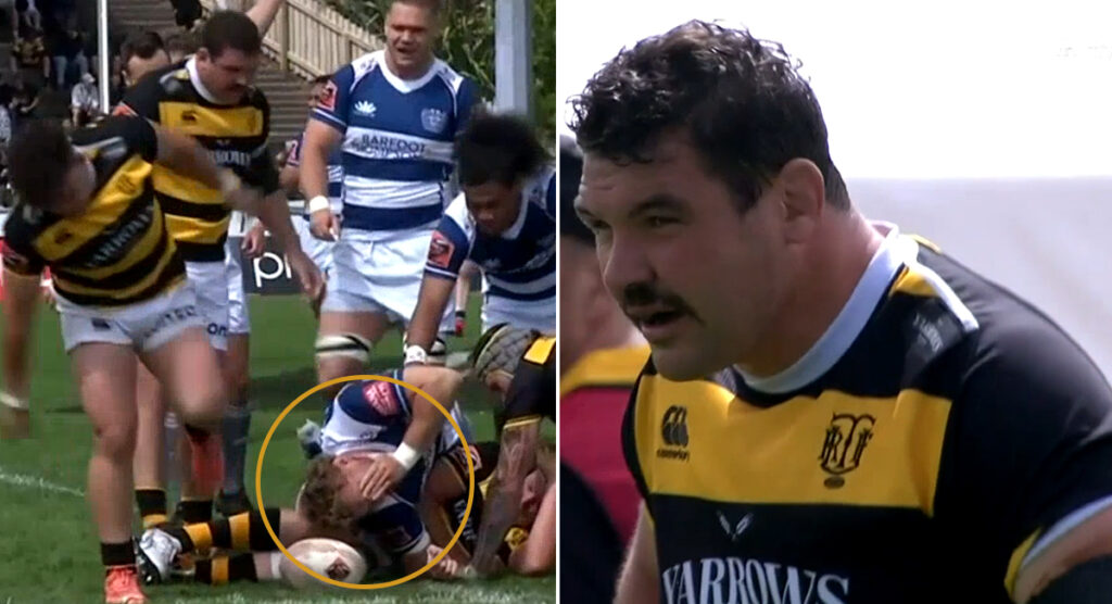 Veteran prop Ben May escaped carding for a sneaky punch, but the disciplinary panel got him