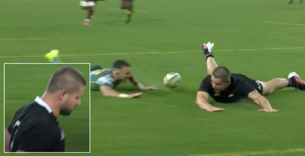 DEBATE: Dane Coles try ruled out after tight call in Bledisloe clash