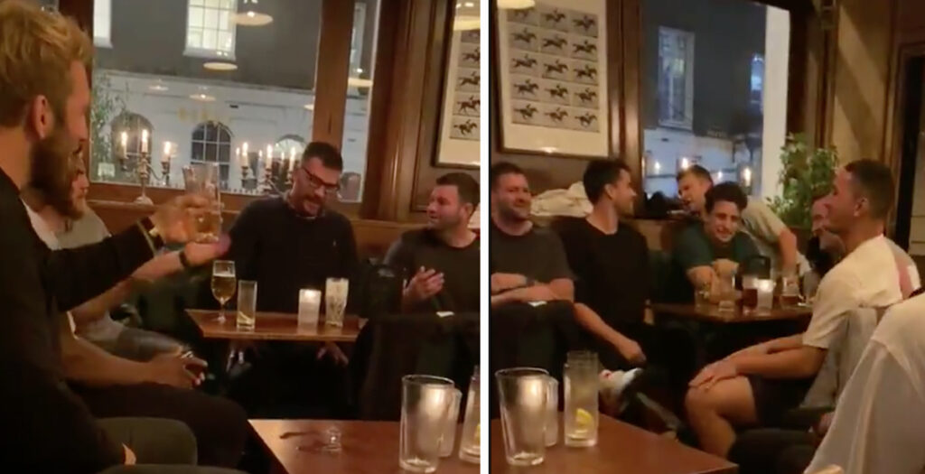 WATCH: Footage of Robshaw and co drinking in pub ahead of Babaas fixture