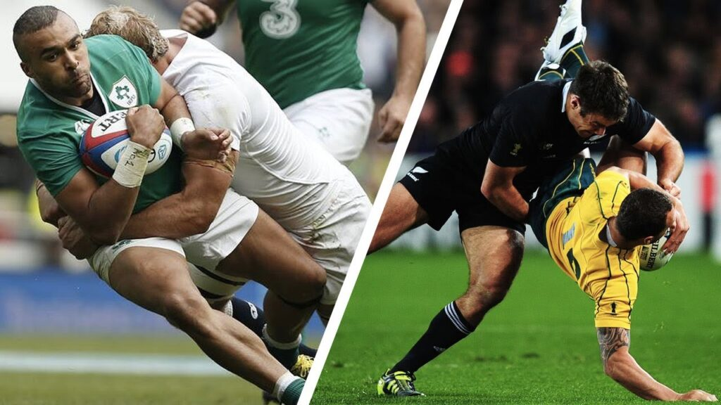 Hardest clean and legal tackles compilation shows that rugby will always be a brutal sport