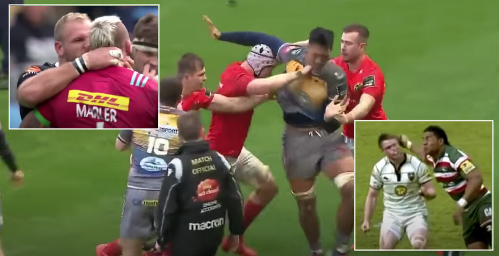 WATCH: Brutal montage of rugby's biggest EVER head losses is pure entertainment