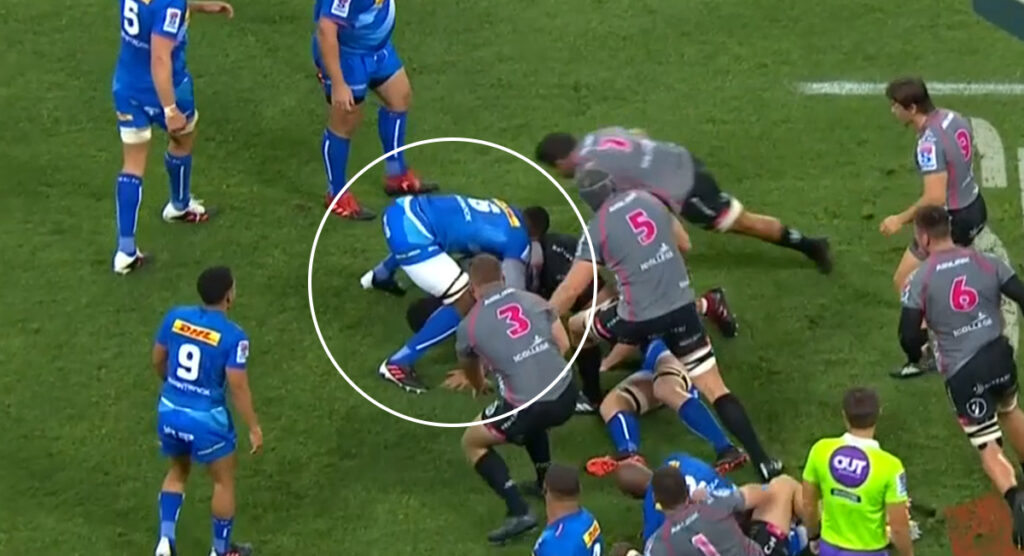 Kolisi injury not as bad as initially thought but dangerous cleanouts are in the spotlight again