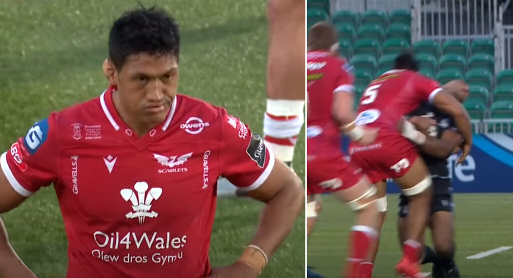 Sam Lousi banned again, this time for a brutal high tackle