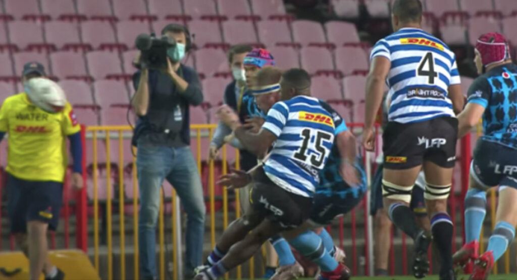 Another foul play talking point as Bulls prop was sent off for debatable high shot in Currie Cup