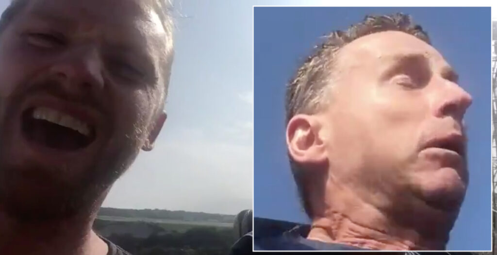 WATCH: Hilarious Nigel Owens rollercoaster reaction will have fans in stitches