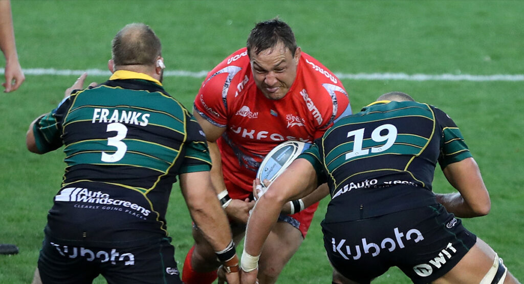 Sale Sharks name forward pack with six South Africans, just one Englishman