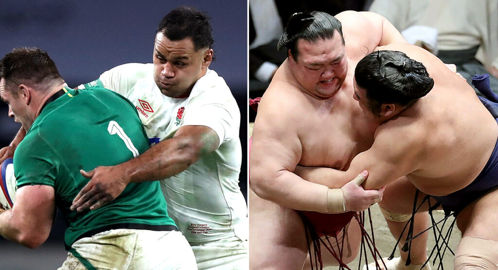 The remarkable similarities between Sumo wrestling and England's defence