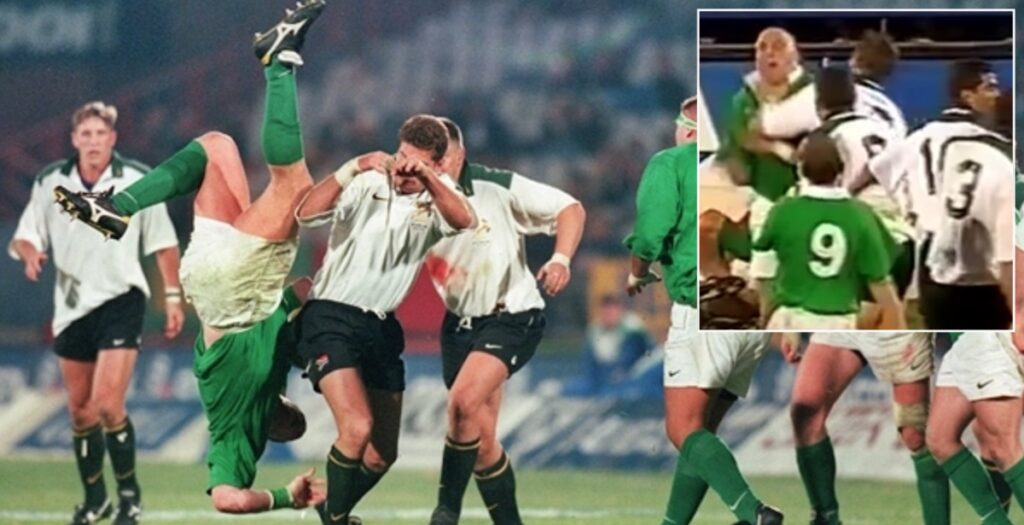 WATCH: 1998 Springboks host Ireland in one of history's dirtiest EVER games