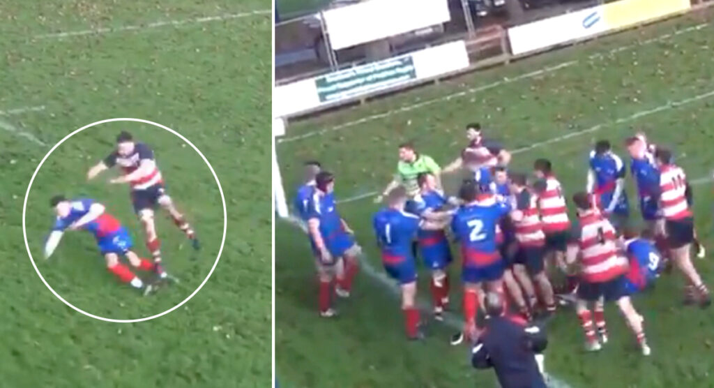 Viral video of Scottish club brawl goes down a storm with rugby community