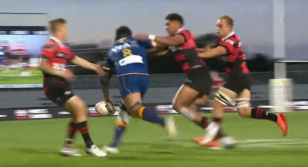 Superb Nasi Manu offload sets up other-worldly try for Otago