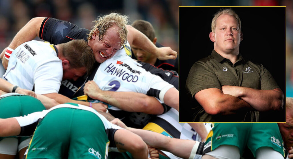 'I've stuck my head in those dark places' - New coach vows to make Wallabies scrum a weapon