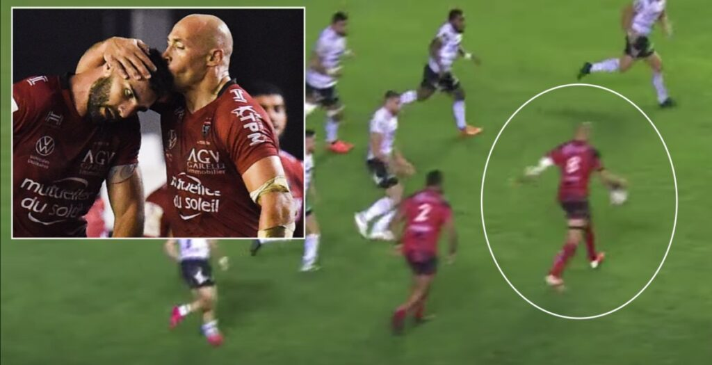 WATCH: Insane Parisse cross-field sets up brilliant Toulon try in Top 14