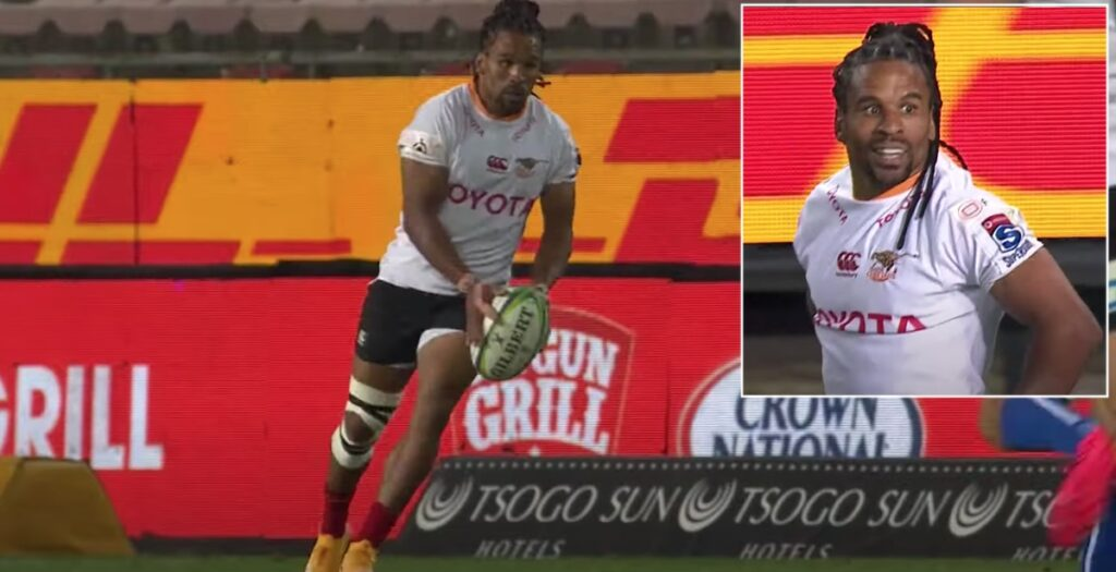 WATCH: Specman scores brilliant 60-metre try with cleaver half-volley and Superman dive