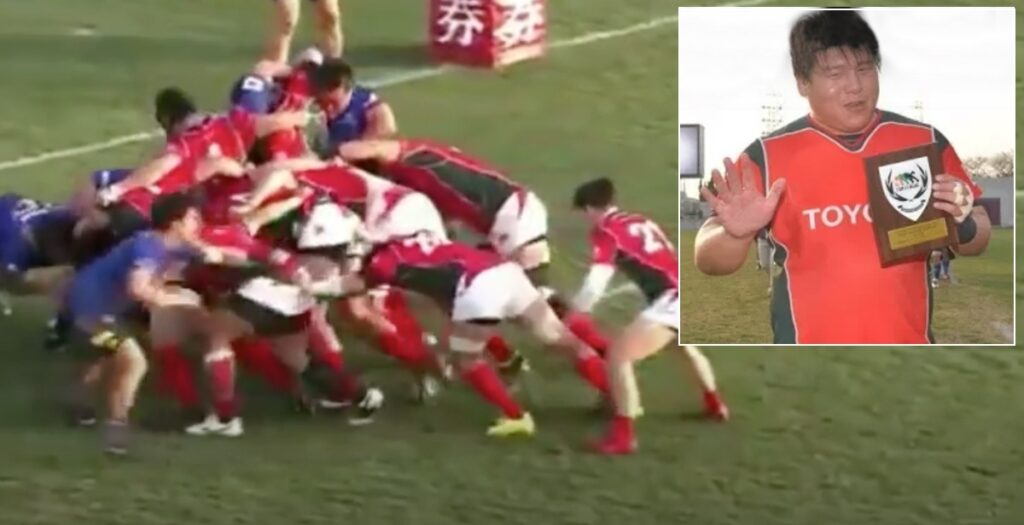 Immense scrummaging performance turns Japanese Top League game on its head in 2017