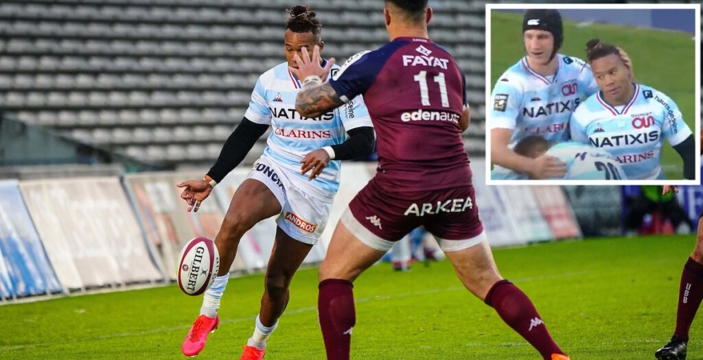 France absentee Teddy Thomas scores beautiful solo effort from 50 metres in Top 14