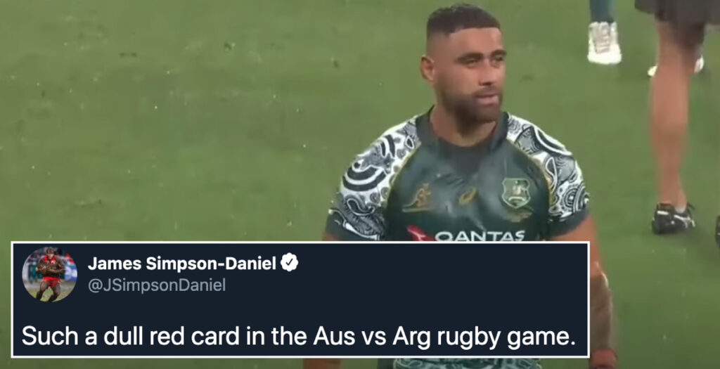 WATCH: The Wallabies red card tackle which has angered fans and former players