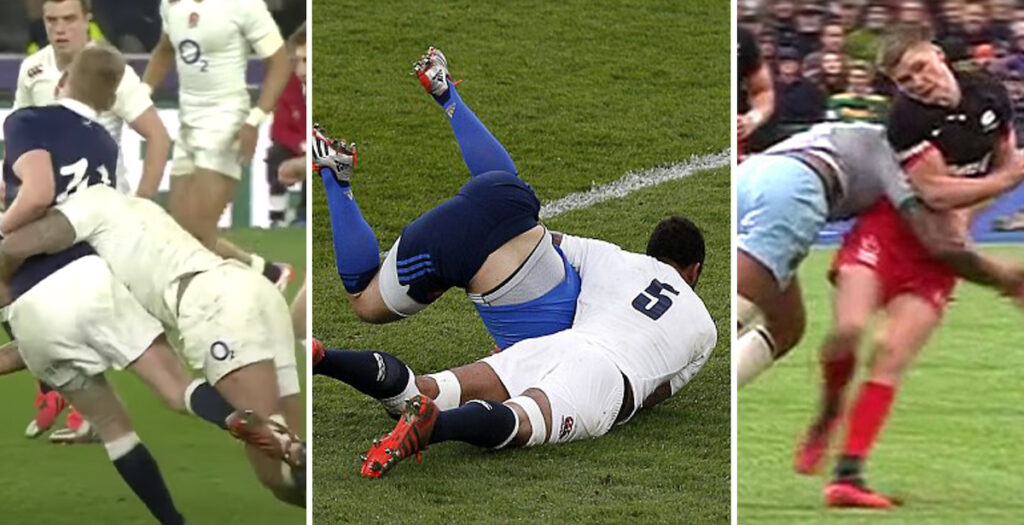 WATCH: The very biggest hits of Courtney Lawes' bruising career at the top