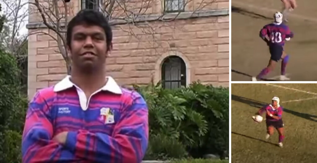 Kurtley Beale's schoolboy highlights are so good they don't even look real