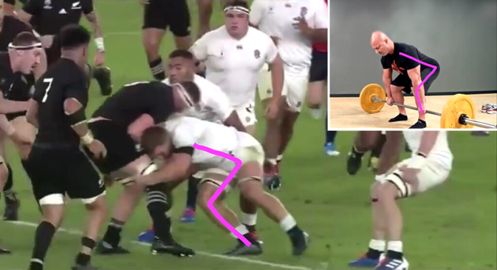 Sam Underhill's flawless tackle technique when compared to other sports