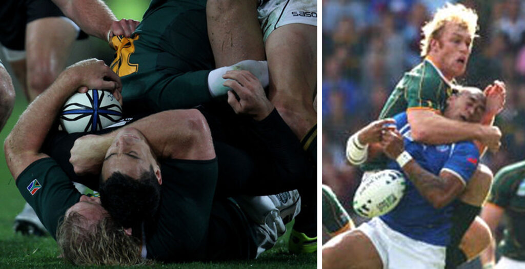 WATCH: The nastiest and most brutal moments of Schalk Burger's career