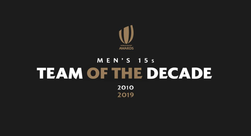 Team of the Decade stands out at World Rugby awards evening