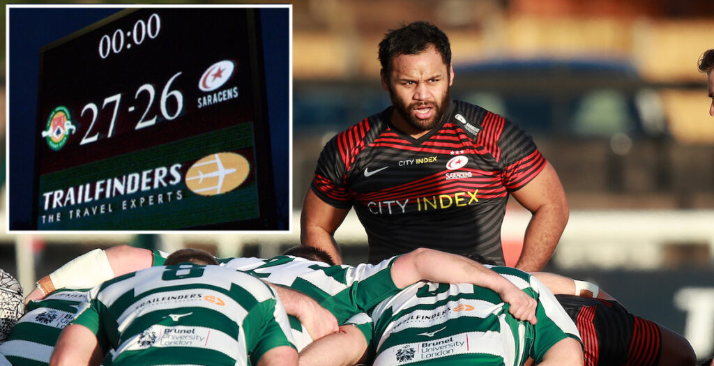 Highlights and reaction to Saracens shock defeat to Championship regulars Ealing