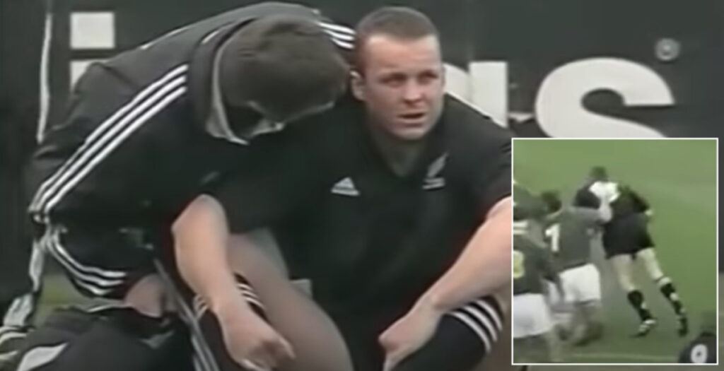 20 years on since arguably the worst hit of Christian Cullen's All Blacks career