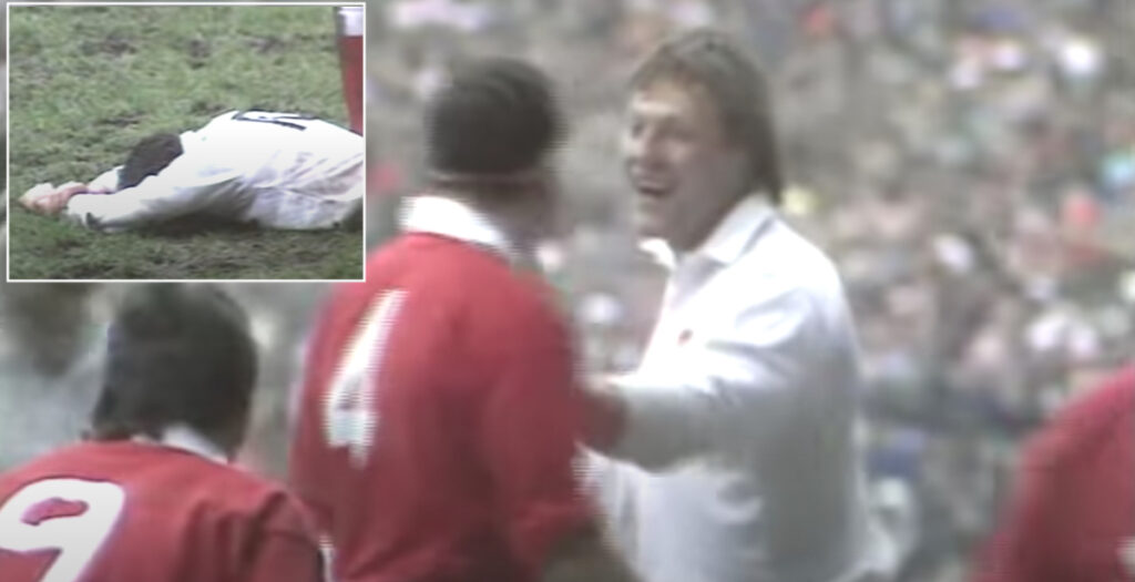Old school highlights show just how brutal rugby really was in the 80s