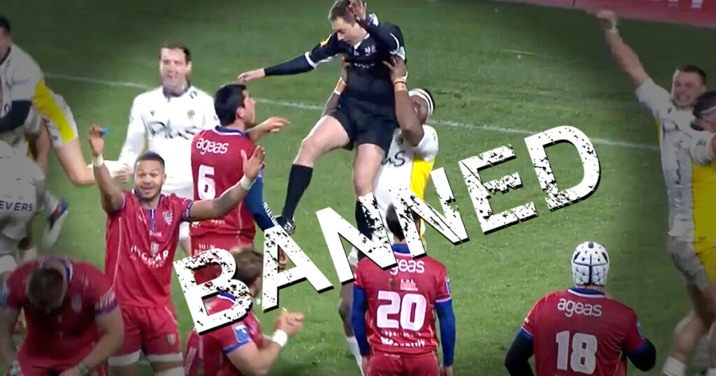 Fijian winger cops heavy ban after that referee lifting incident that went viral and blew up his phone