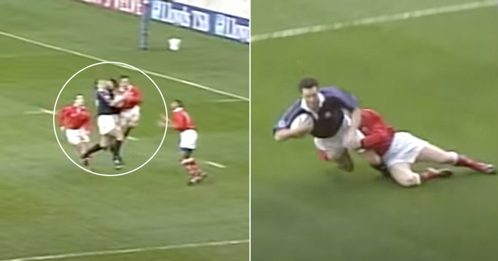 John Leslie's unbelievable 1999 try was the fastest ever scored from kick off in Test rugby