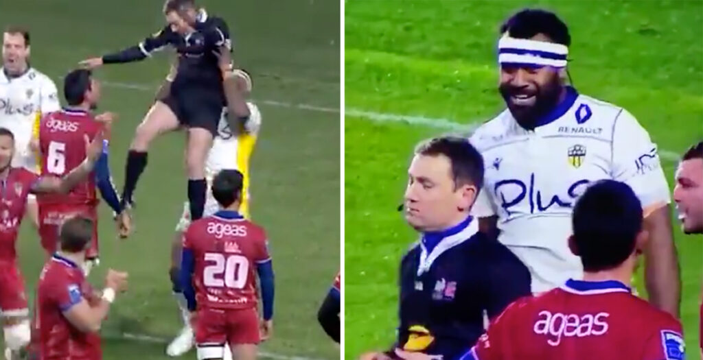 WATCH: Without doubt one of the funniest red cards in the history of rugby