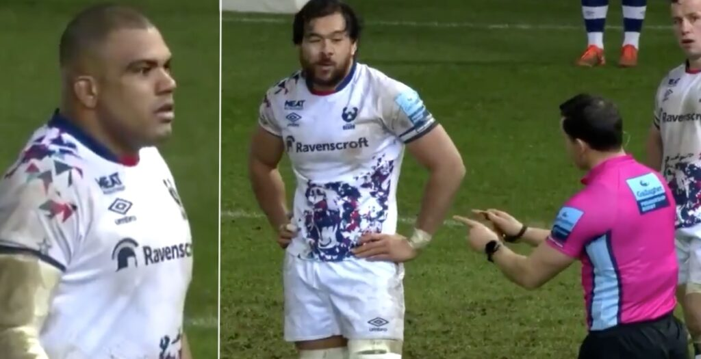 'Are you f***ing serious?' - Kyle Sinckler criticised over strong language towards ref