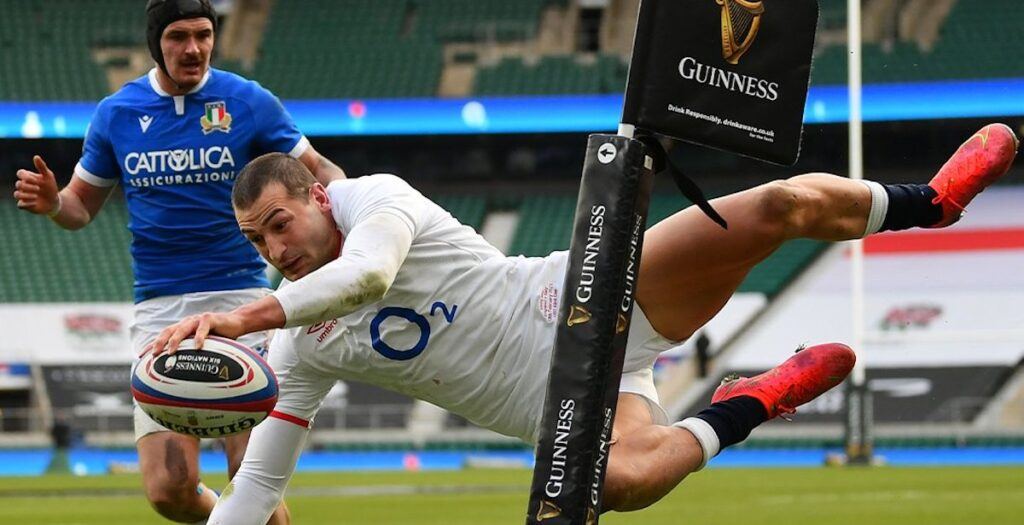 Every angle of Jonny May's incredible try vs Italy