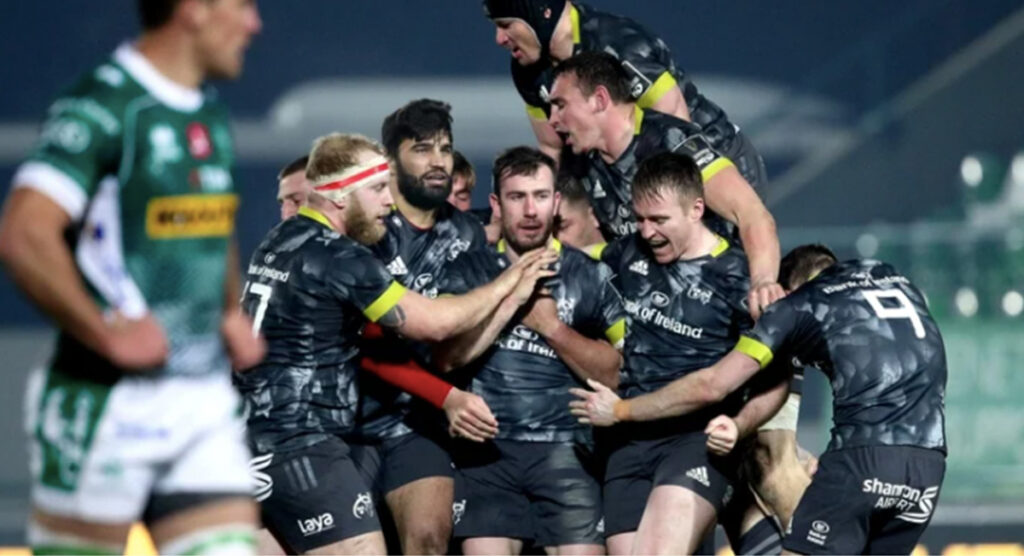 JJ Hanrahan lifts Munster with dramatic drop goal at the death