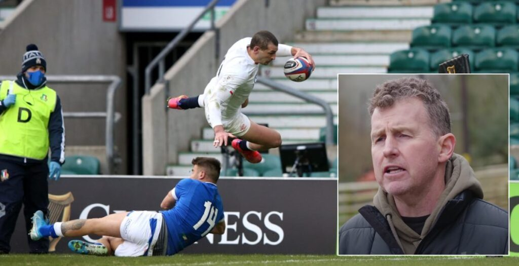 Nigel Owens explains why THAT Jonny May try was awarded vs Italy