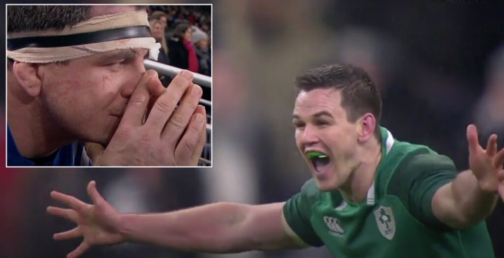 WATCH: All 41 phases leading up to Sexton's ICONIC 45-metre drop goal vs France
