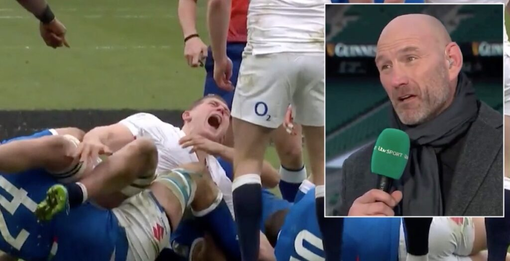 Rugby laws brought into question following HORRIFIC cringeworthy Willis injury vs Italy