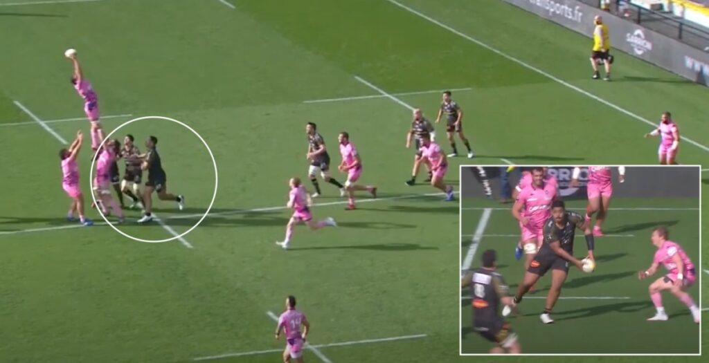 Will Skelton finds loophole in laws to make bizarre-looking lineout steal
