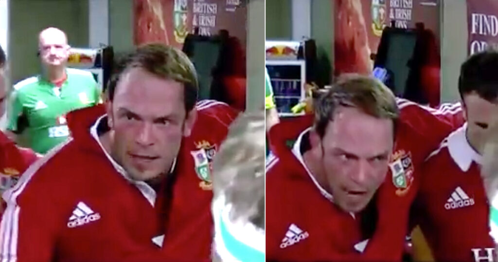 Inspirational Alun Wyn Jones team talk from 2013 gets fans hyped for Lions tour